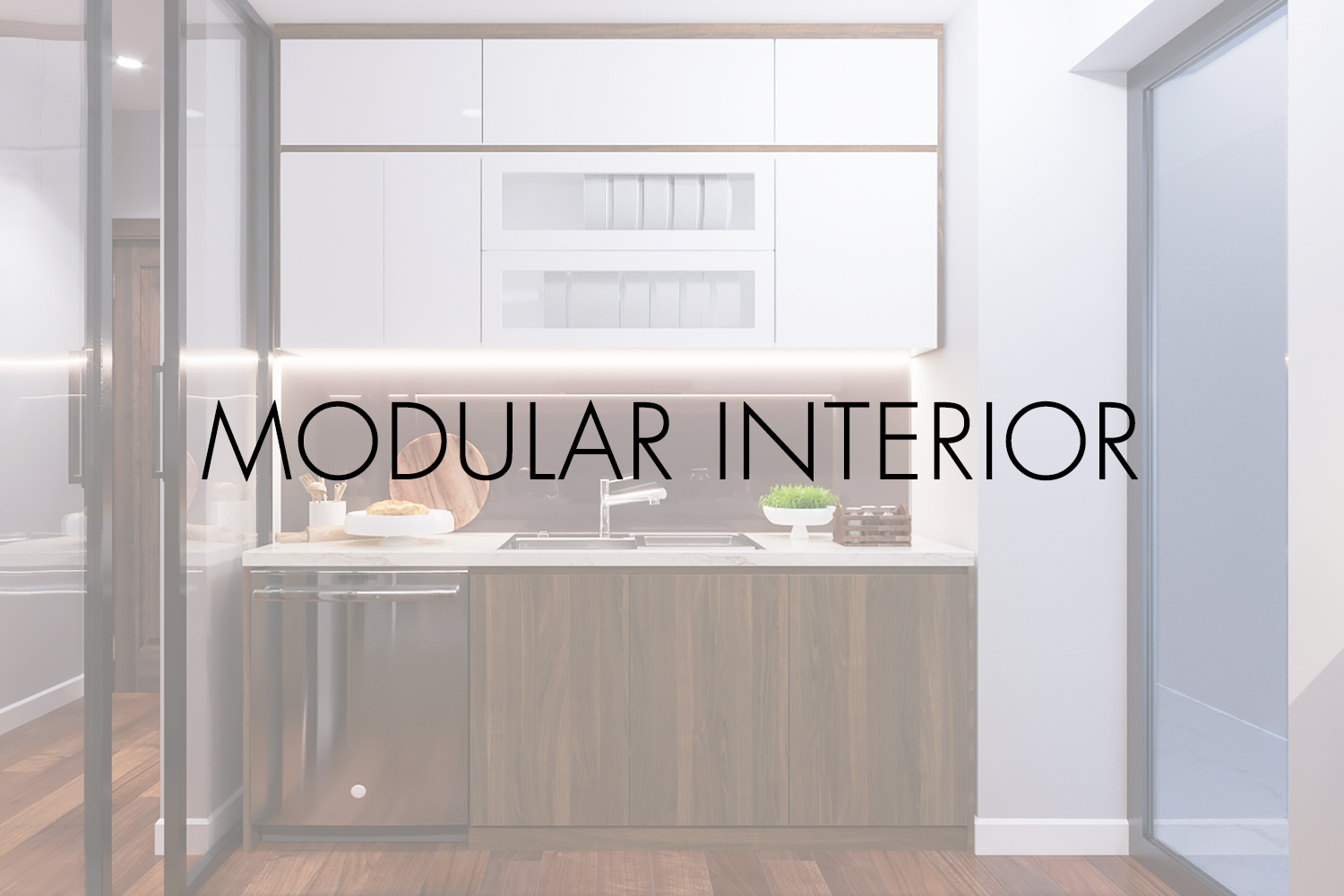 Modular Interior: The trend of the day
