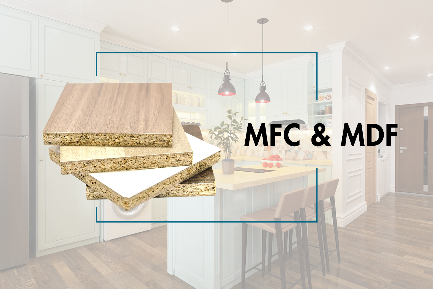 The difference between MFC & MDF
